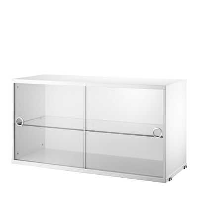 String Skříňka Display Cabinet, White - DESIGNSPOT