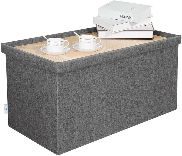 ottoman with tray table