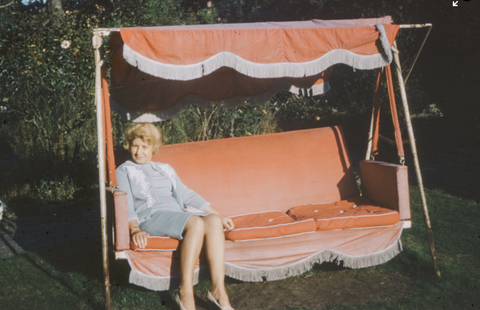 history of porch swing