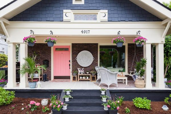 front porch decor for summer
