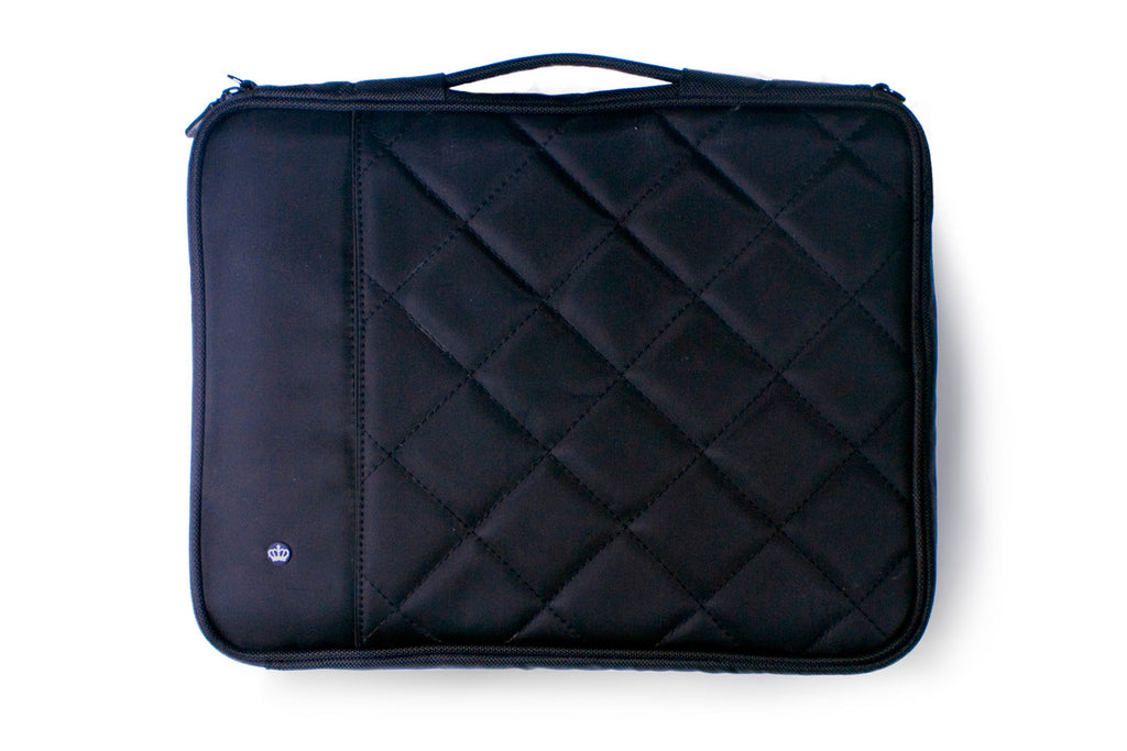 THE PRIMARY COLLECTION | STUFF SLEEVE | QUILTED | black