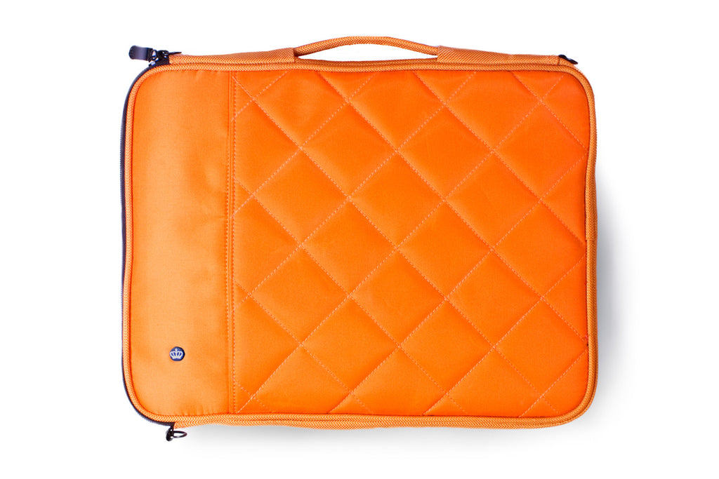THE PRIMARY COLLECTION | STUFF SLEEVE | QUILTED | orange