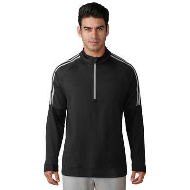 Adidas 3-stripe layering ¼ zip top