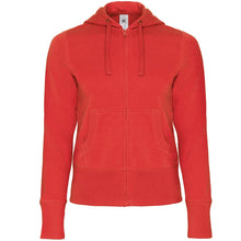 Load image into Gallery viewer, B&C Hooded full zip/women