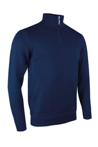 Glenmuir Devon zip-neck cotton sweater