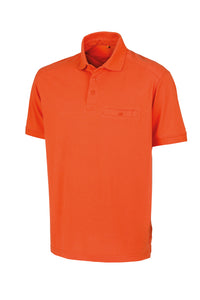 WORK-GUARD Apex pocket polo shirt with Logo