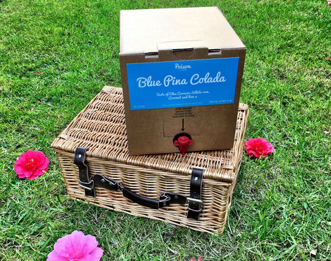 Blue Pina Colada Bag In Box Cocktail