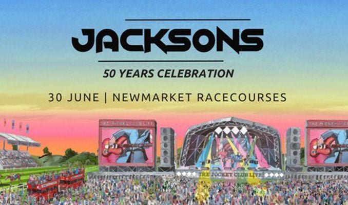 The Jacksons at the horse racing!