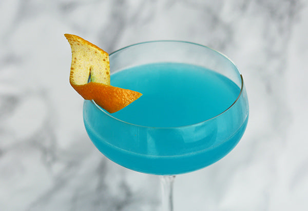 Poison Blue Cocktail