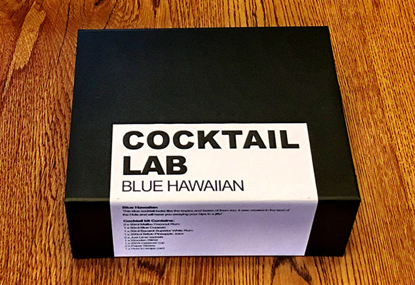 Blue Hawaiian Cocktail Gift Box