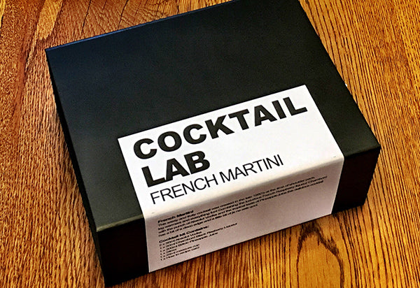French Martini Cocktail Gift Box without Ribbon