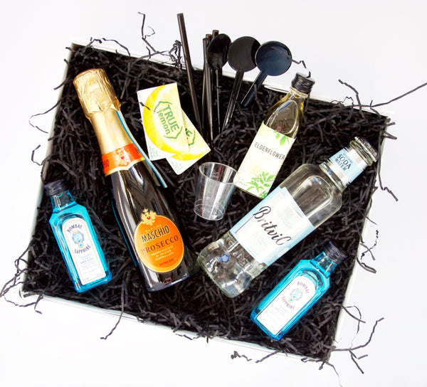 Tom Collins & Hugo Cocktail Gift Box