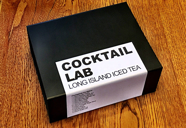 Long Island Ice Tea Cocktail Gift Box without Ribbon