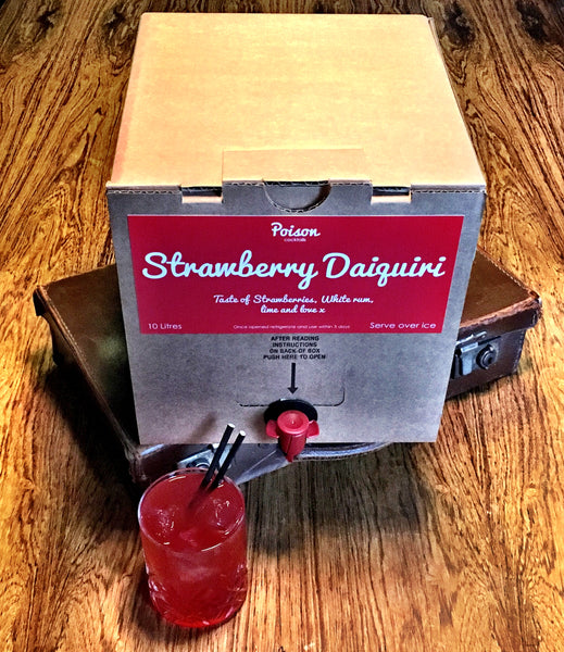Strawberry Daiquiri Cocktail 10 Litre Bag In Box