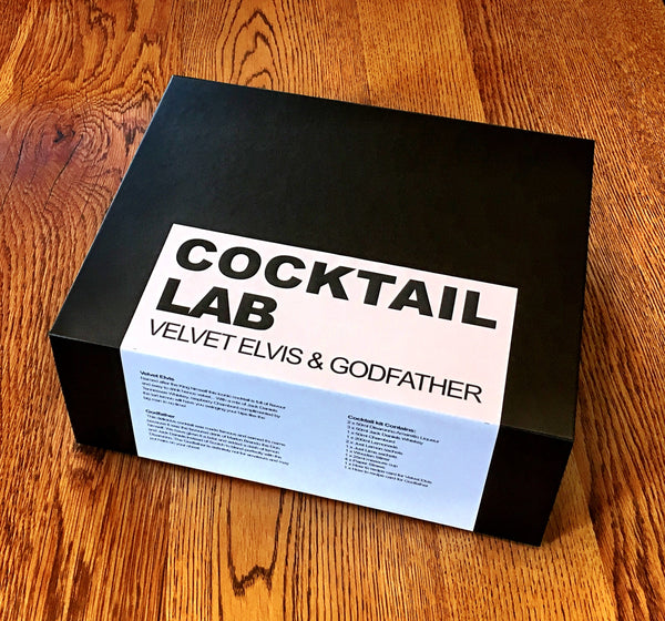 Godfather & Velvet Elvis Cocktail Gift Box