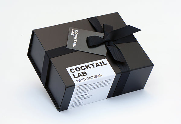 White Russian Cocktail gift box