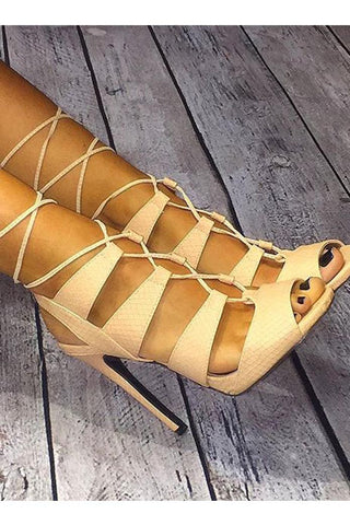 Allure High Heels Sandals- FINAL SALE