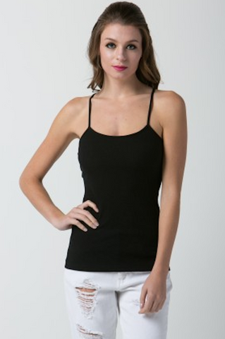 Rib Basic Top- FINAL SALE