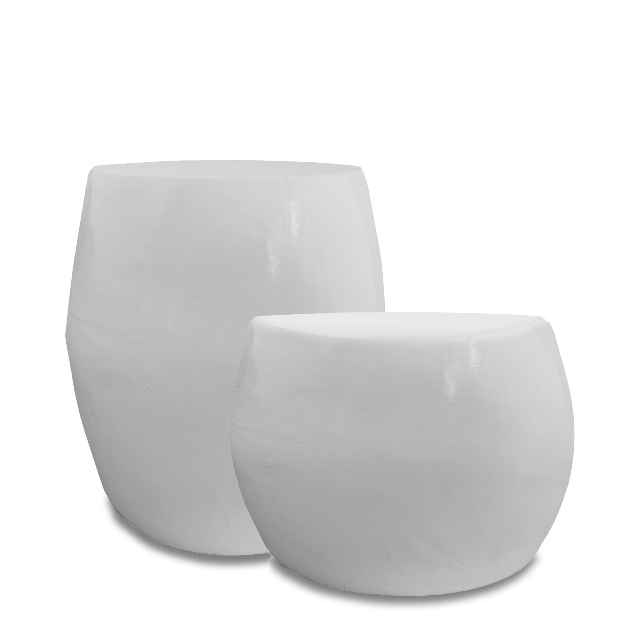 Ceramic Stools Grey