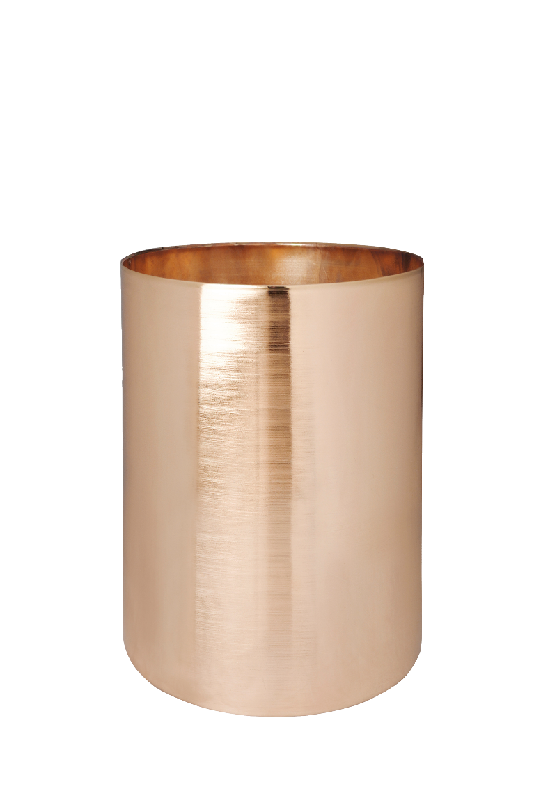 Vessel | Copper | 155dia x 220H