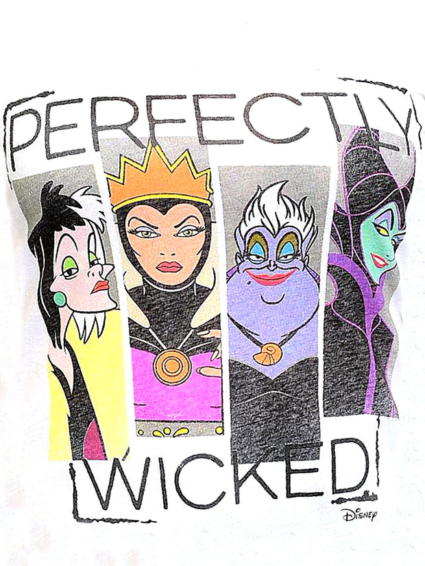 Juniors Plus Size Disney Villains Ursula Maleficent T-Shirt Perfectly Wicked