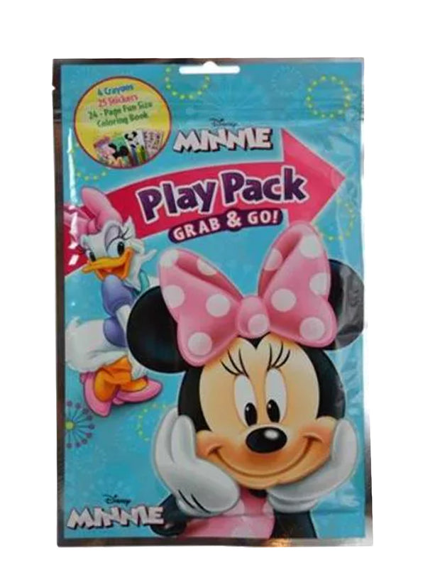 Party Favor Minnie Mouse Clubhouse Grab and Go Play Pack 10ct