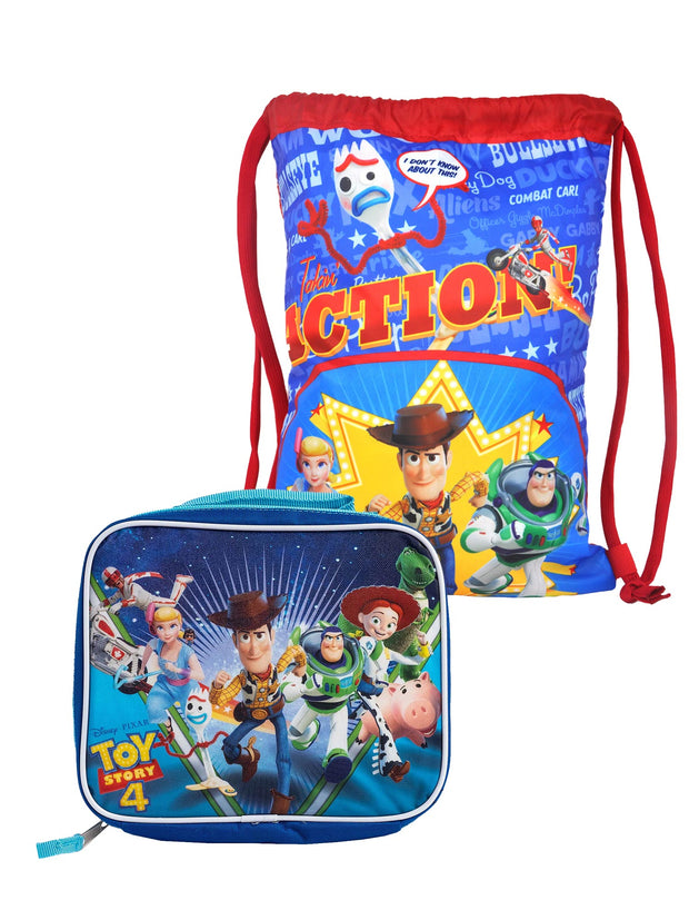 Disney Toy Story 4 Sling Bag & Lunch Bag 2-Piece Set