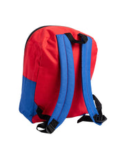 "Marvel Spider-Man Backpack 15"" Chest Logo Red Blue"