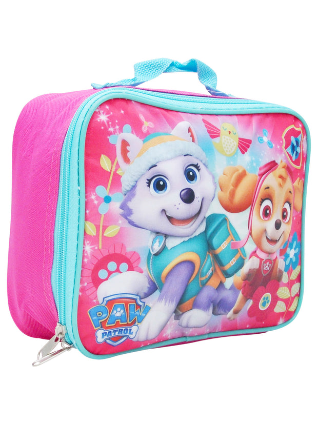 Girls Paw Patrol Skye Everest Insulated Lunch Bag Pink