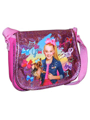 Jojo Siwa Bow w/Rhinestones Hair Extension & Crossbody Shoulder Purse 2-Pcs Set