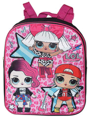 "LOL Surprise 12"" Mini Backpack MC Swag w/ Insulated Lunch Bag Queen Bee Set"