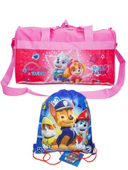 Girls Paw Patrol Duffel Bag Believe in Yourself & Sling Bag 2-Piece Set