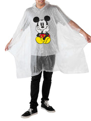 Dad Mickey Mouse Men's Adult Waterproof Rain Poncho