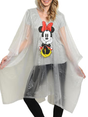 Mom Minnie Mouse Adult Waterproof Rain Poncho