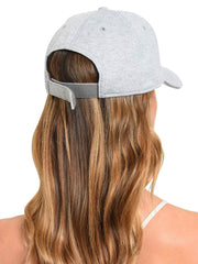 Minnie Mouse Mom Baseball Cap Adult Disney Hat Cotton Gray