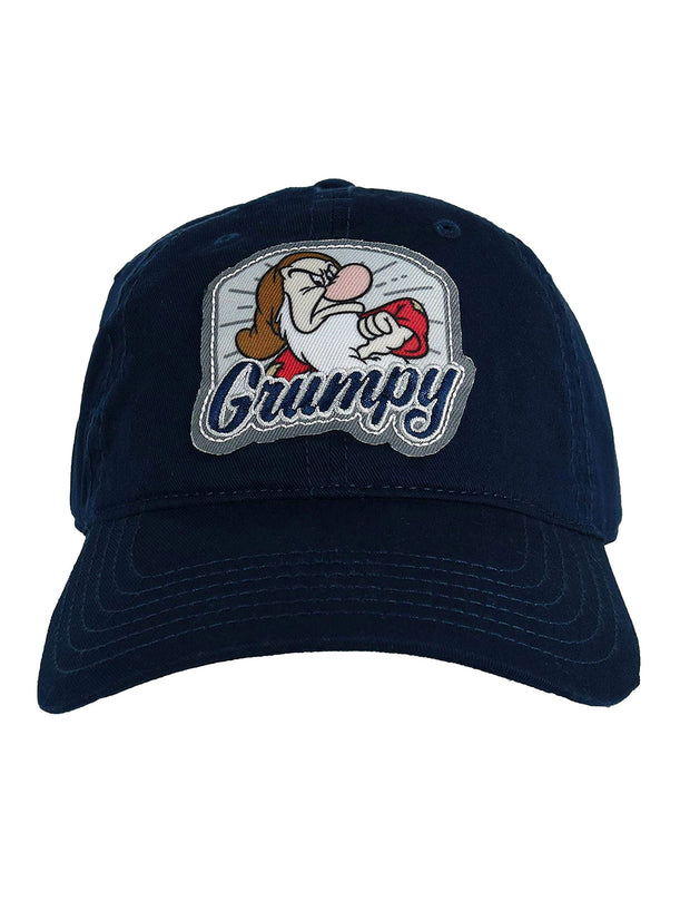Grumpy Dwarf Dad Hat Baseball Cap Adjustable Strap Buckle Curved Bill - Adult