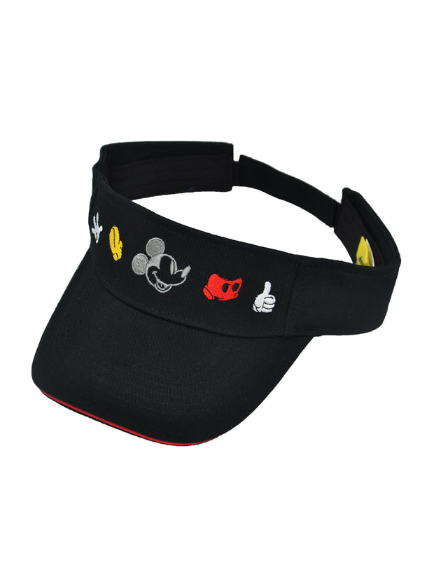 Disney Mickey Mouse Men's Visor Hat Adult