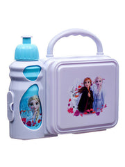 Disney Frozen II Anna And Elsa Lunch Box With Water Bottle BPA-Free Combo Set