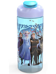 Disney Frozen II 16.5oz Sullivan Water Bottle Anna Elsa w/ Drawstring Sling Bag