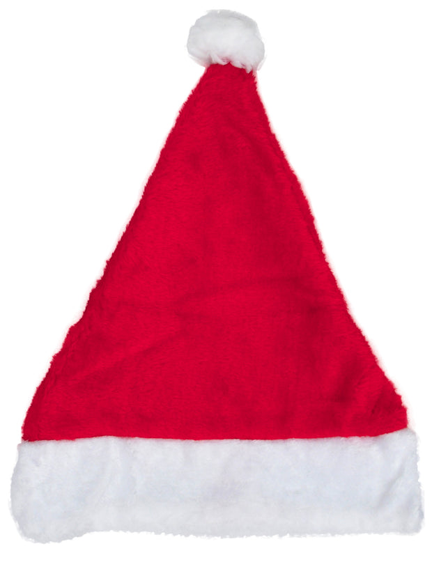 Adult Unisex Santa Claus Christmas Hat Holiday Winter