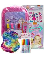 JoJo Siwa 11PC  Art Activity Backpack Sticker Marker Pen Face Cover Book
