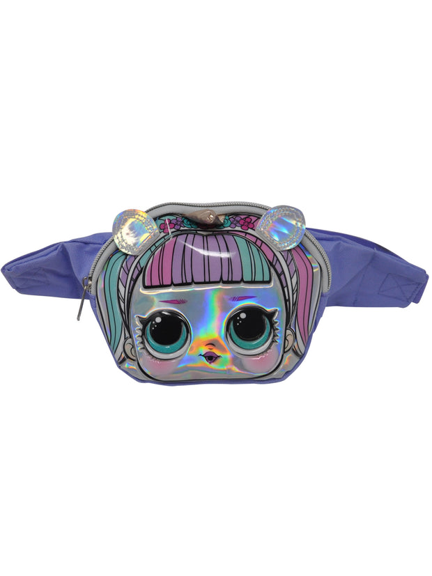 Girls LOL Surprise Unicorn Belt Bag Fanny Pack Purple