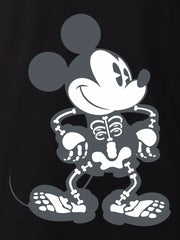 Men's Mickey Mouse Halloween Skeleton T-Shirt (Size XL Only)