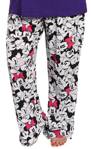 Women's Plus Size Pajama Pants Minnie Mouse Lounge Sleep Wear