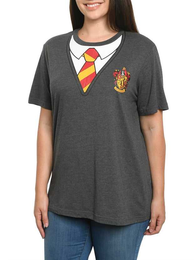 Women's Plus Size Harry Potter T-Shirt Halloween Costume Tee Hogwarts Griffindor