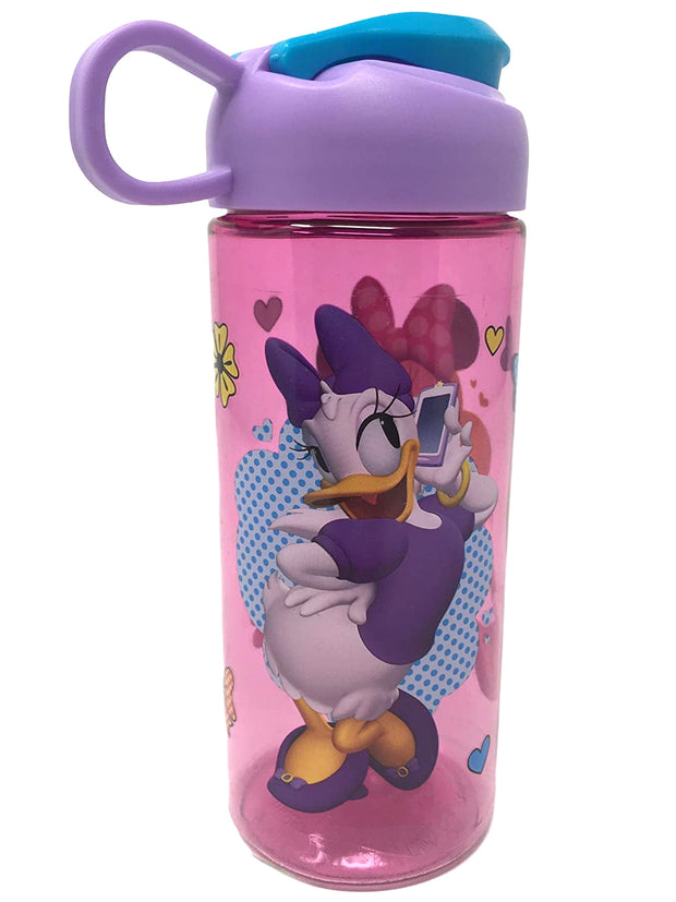Disney Minnie Mouse & Daisy Duck Sullivan Water Bottle 16.5oz Flip Top Pink