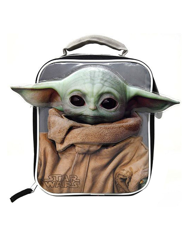 Disney Star Wars Insulated Lunch Bag Baby Yoda Ears The Child Mandalorian