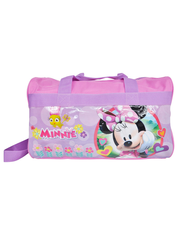 Disney Minnie Mouse Duffel Bag and Wallet Travel 2Pc Set