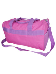 "Minnie Mouse Duffel Bag 17"" Travel Carry On Pink"