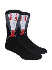 Men's Novelty Socks (1-Pair) Size 10-13 Choose Print